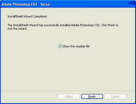 Как установить Adobe Photoshop CS2
